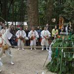 護摩の始まる儀式