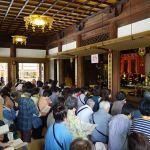 須磨寺本堂にて法楽