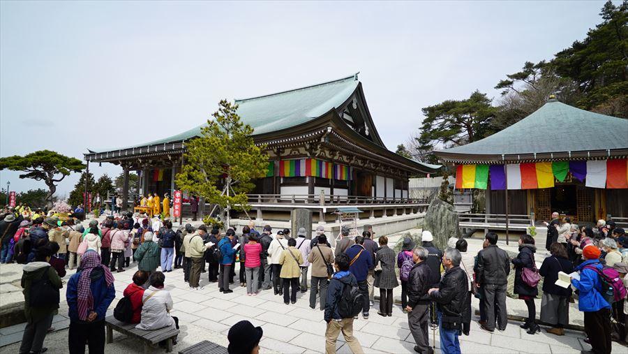 摩耶山天上寺本堂