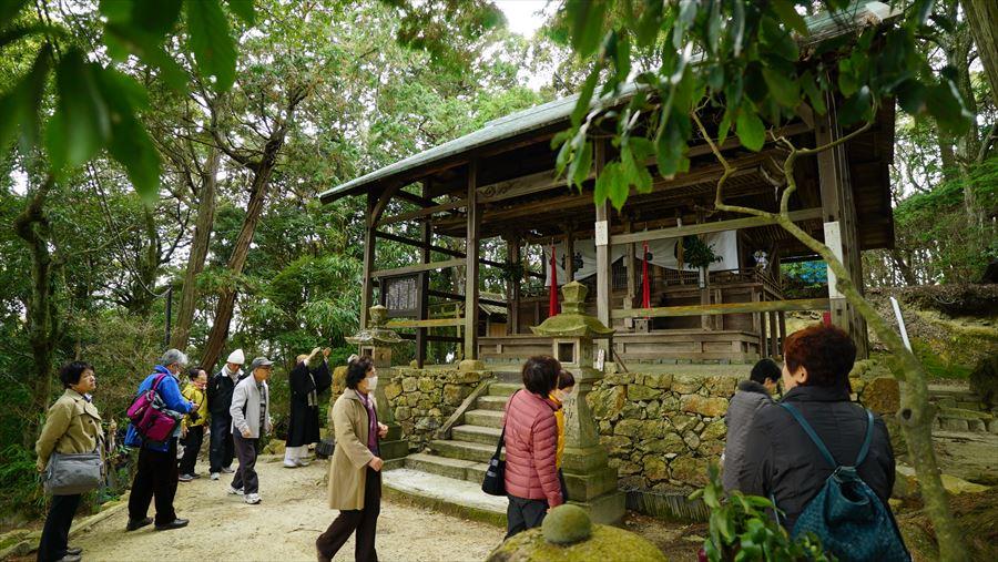 無動寺内 若王子神社