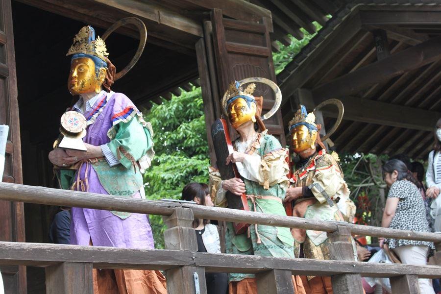 太山寺練り供養菩薩衆