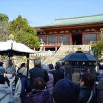 大山寺 本堂(前回ツアーの様子)