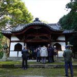 太山寺 羅漢堂(前回ツアーの様子)