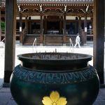 須磨寺 本堂前