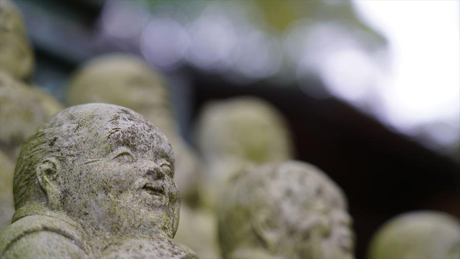 大龍寺 石仏