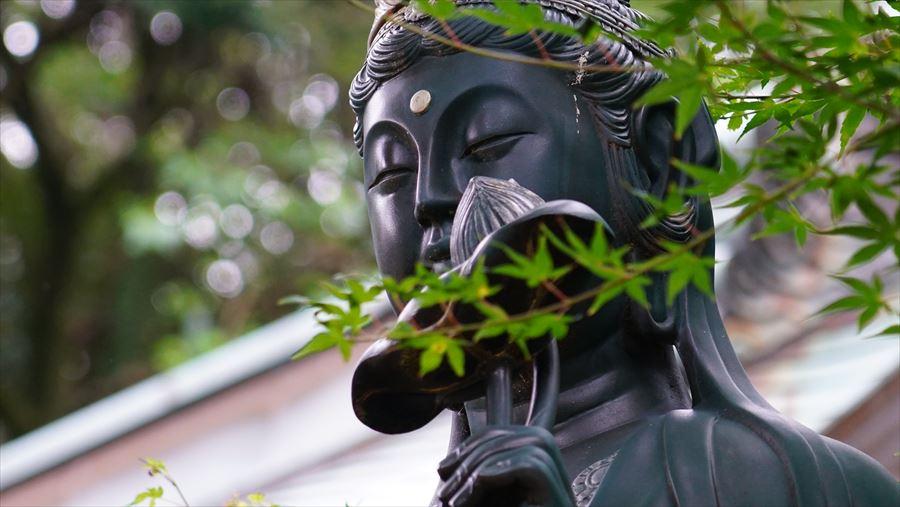 大龍寺 観音像