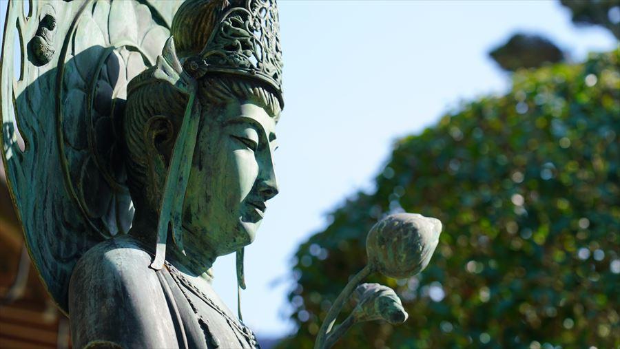念仏寺 観音像